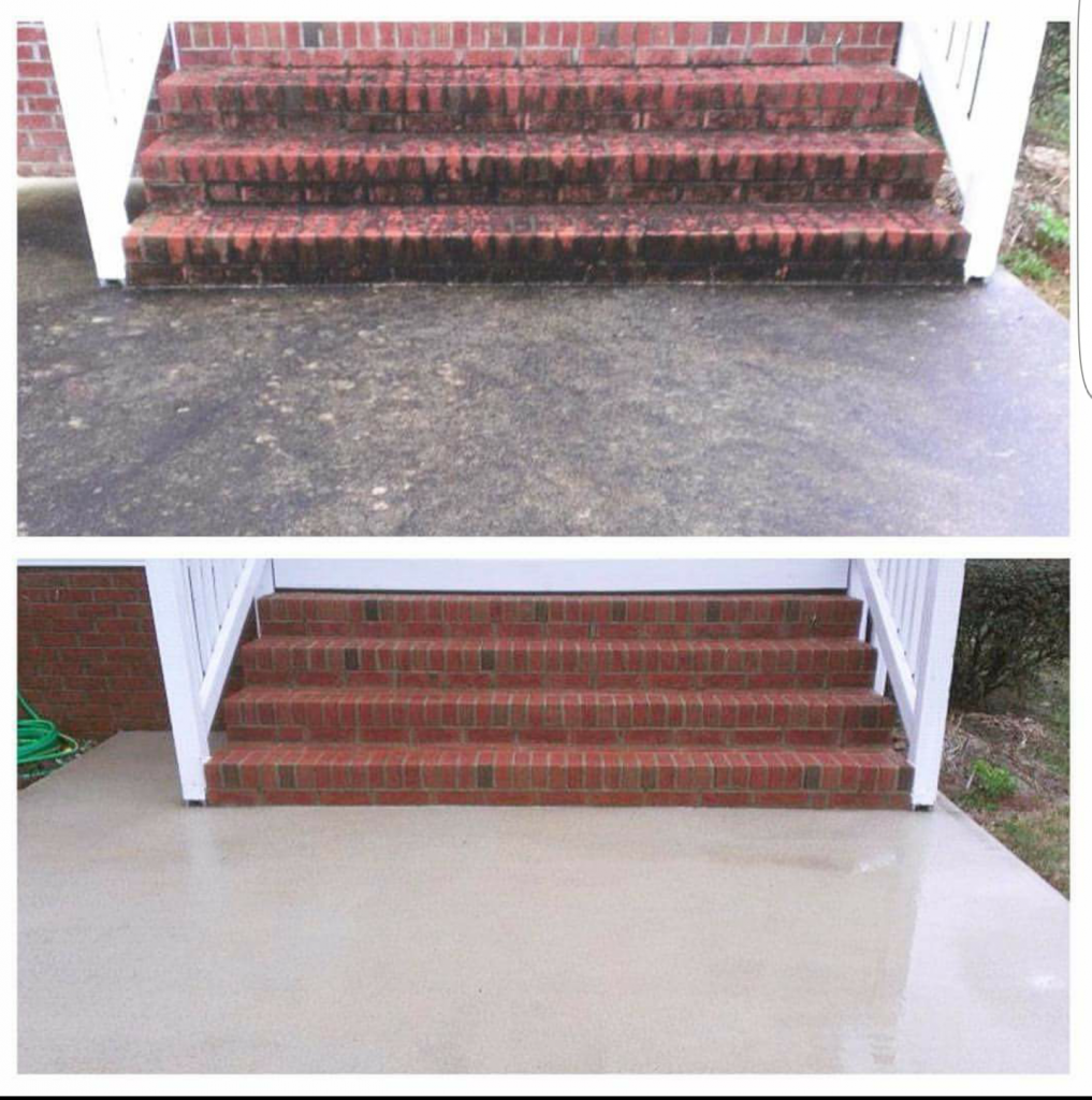 raleigh nc pressure washing before and after